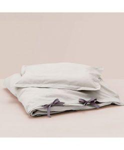 grå sengetøj