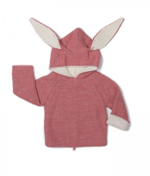 bunny hoodie rose oeuf