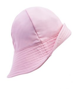 petit crabe hat soft rose