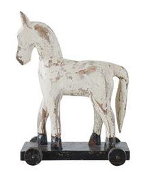 horse on wheel