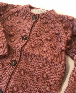 shirley bredal boble cardigan berry close