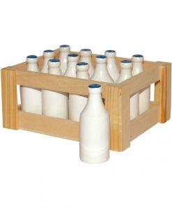 kasse med mælk legemad
