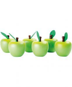 trælegemad æbler