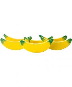 trælegemad bananer