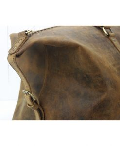 duffelbag vintage leather