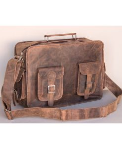 flightbag leather vintage