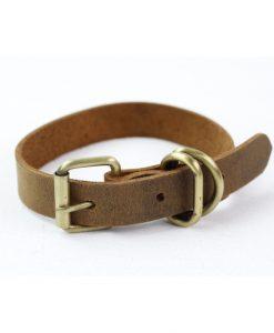 halsbånd læder small