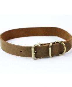 halsbånd large læder