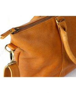 tote schulderbag leather