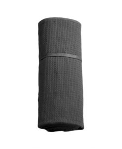 organic companic travel towel grey
