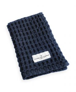 organic company dark blue cloth
