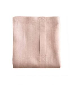 organic company kitchen towel pale rose