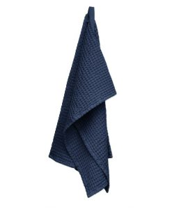organic company medium towel blue
