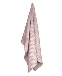 organic company towel and blanket pale rose