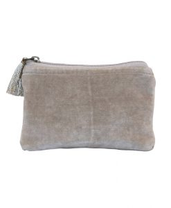 velour clutch chic antique