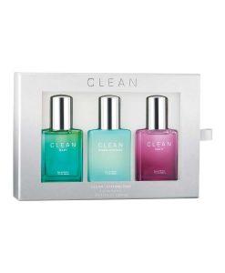 clean parfume 3 pack gaveæske