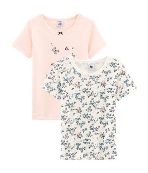 t-shirt med sommerfugle
