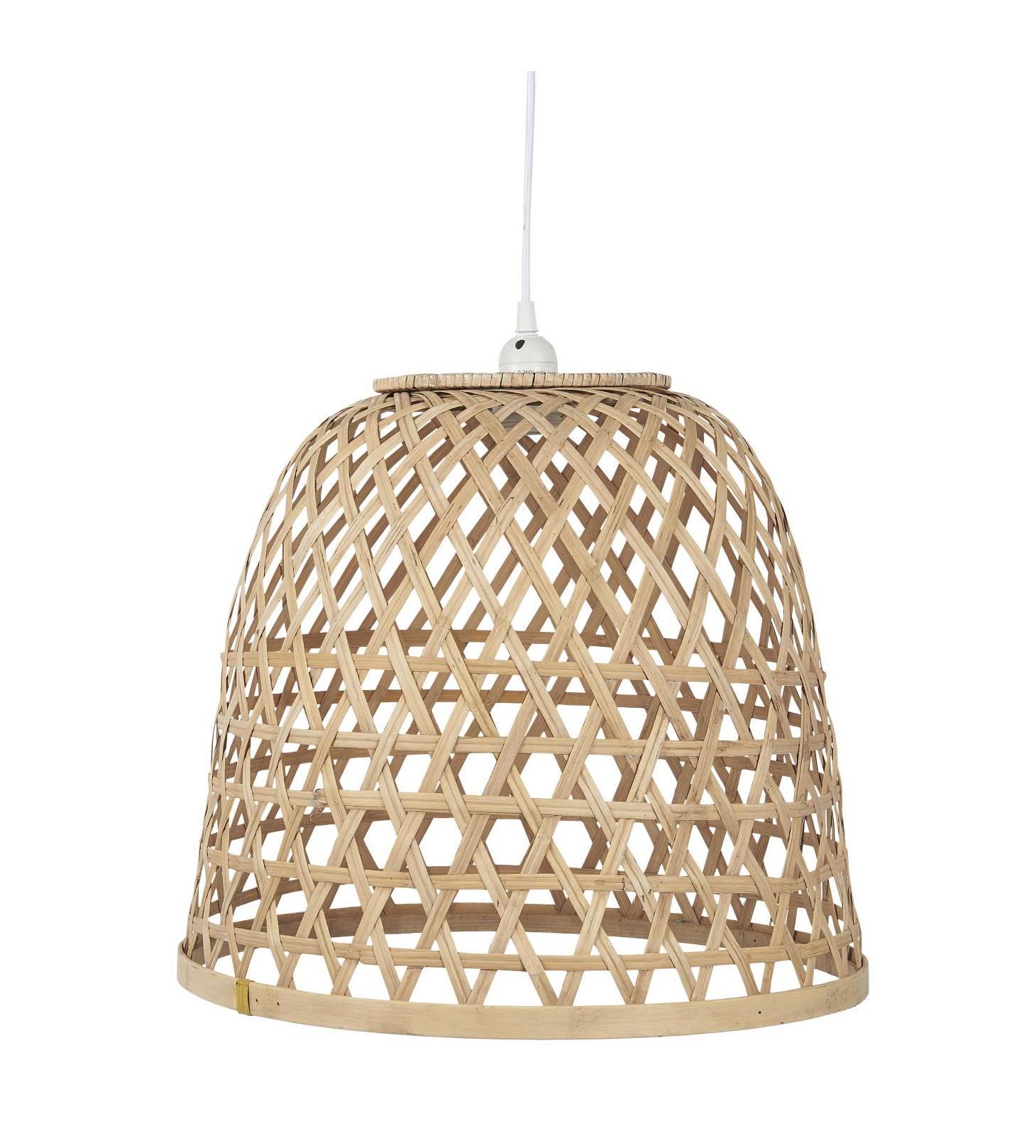 Forskellige Bambus lampe stor Ib Laursen - Little Village People SG36