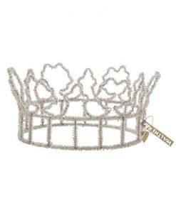 krone med perler walther og co
