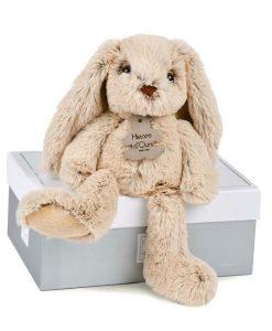 kaninbamse beige 25 cm histoire dours