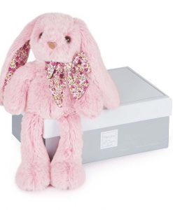 plys kanin rosa 25 cm histoire dours