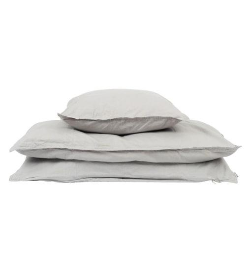 økologisk sengesæt grey studio feder