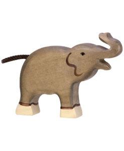 holztiger trædyr baby elefant