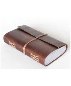 dagbog læder journal