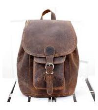 rygsæk i læder