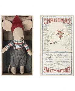 maileg julemus i æske